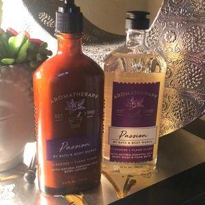 Bath and Bodyworks aromatherapy passion